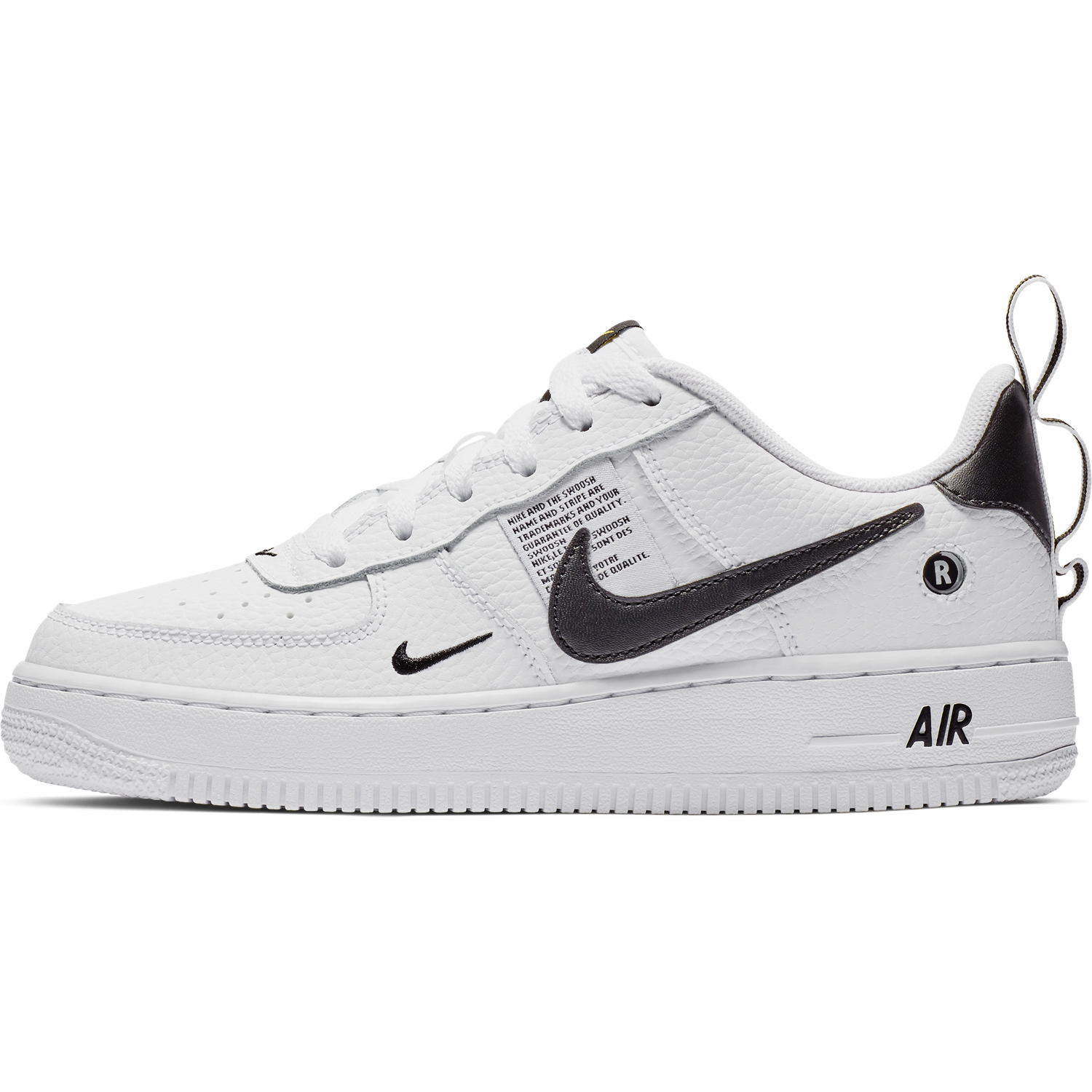 low priced 40e1d c4547 ... BUTY JUNIOR LIFESTYLE NIKE AIR FORCE 1 LV8 UTILITY (GS) BIAŁE  AR1708-100 ...