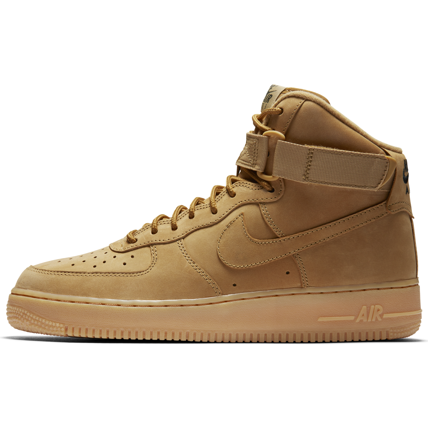 best service aef2c 6849e ... BUTY MĘSKIE NIKE AIR FORCE 1 HIGH 07 LV8 FLAX 882096-200 ...