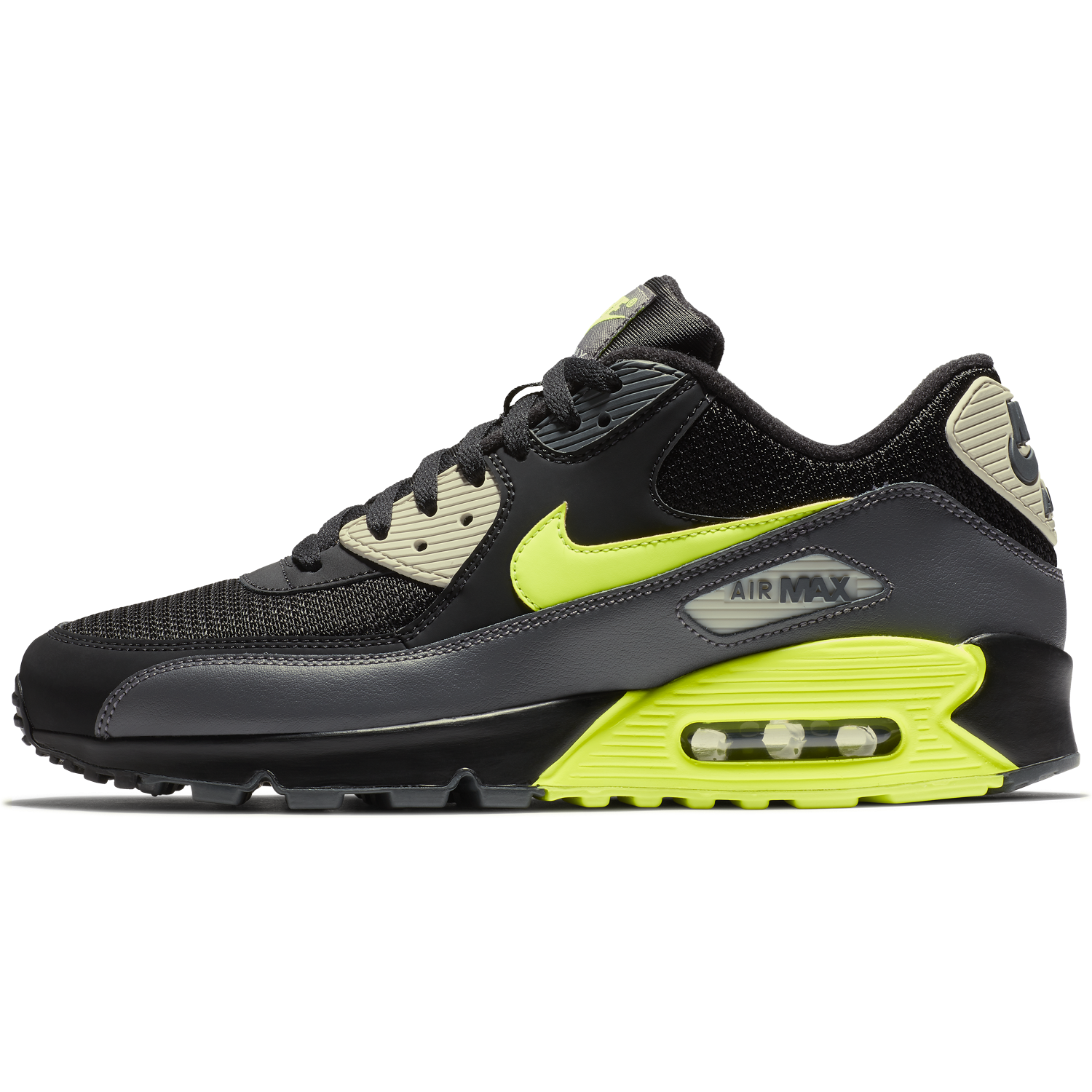 competitive price bc37e 0f47d ... BUTY MĘSKIE LIFESTYLE NIKE AIR MAX 90 ESSENTIAL CZARNE AJ1285-015 ...