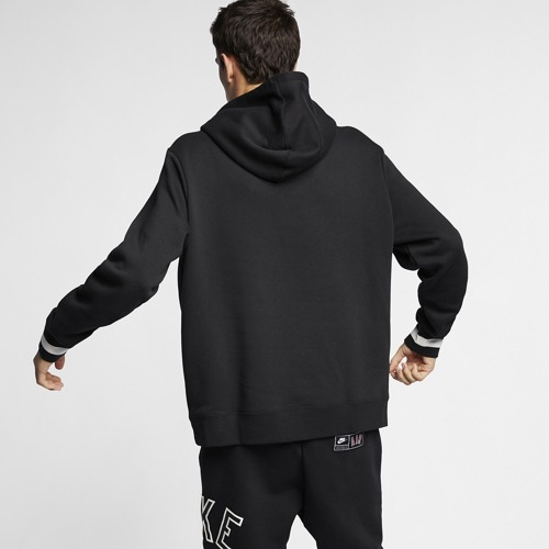 BLUZA MĘSKA NIKE NSW AIR HOODIE FLEECE CZARNA AR1817-010