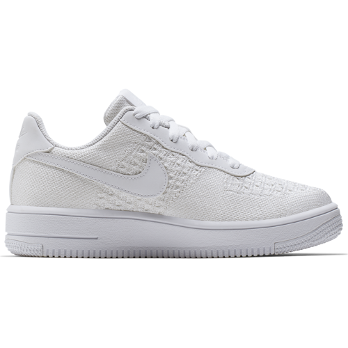 BUTY JUNIOR NIKE AIR FORCE 1 FLYKNIT 2.0 BIAŁE BV0063-100 (GS)