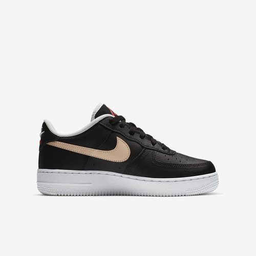 BUTY JUNIOR NIKE AIR FORCE 1 LV8 1 (GS) CZARNE CN8536-001